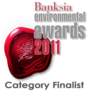 Banksias People's Choice Award Finalist 2011